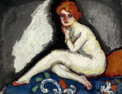 Kees Van Dongen. Seated Nude