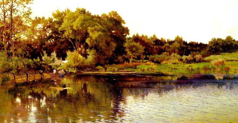 Александр Калам. Озеро