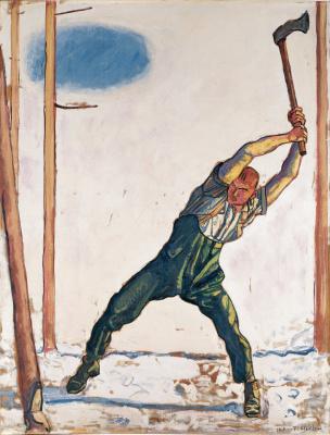 Ferdinand Hodler. Woodcutter