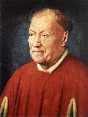 Jan van Eyck. Portrait of cardinal Nicolo Albergati