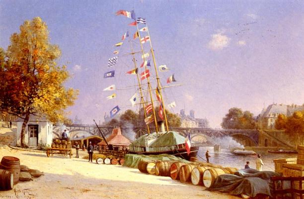 Арманд Гуеру. Корабль в Париже