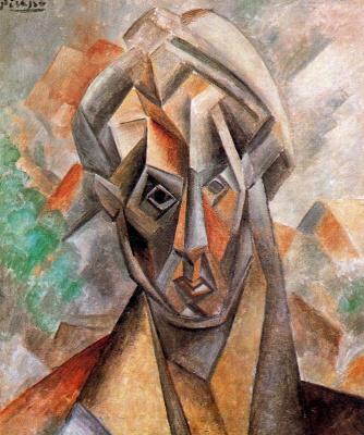 Пабло Пикассо. Голова женщины (Фернанда)
