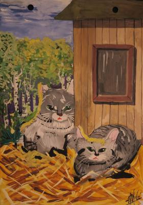 Николай Николаевич Оларь. Cats