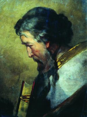 Иван Кузьмич Макаров. Евангелист Иоанн. Конец 1880-х - начало 1890-х