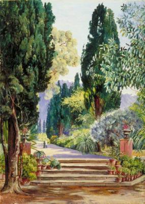 In the botanical garden, Tenerife