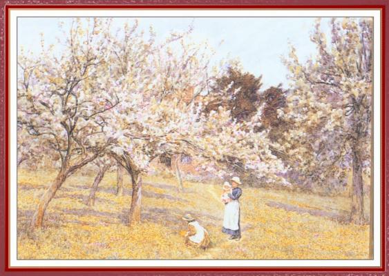 Helen Allingham. Flowering