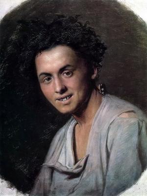 Vasily Grigorievich Perov. A young man of seventeen (Baker). Etude