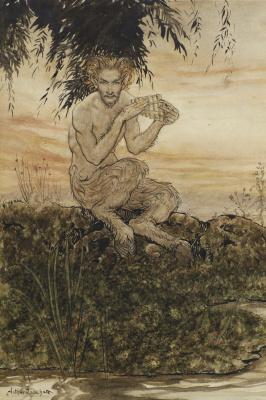 Arthur Rackham. Satyr