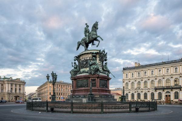 Peter Karlovich Klodt von Jurgensburg. Monument to Emperor Nicholas I