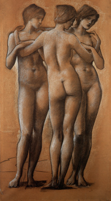 Edward Coley Burne-Jones. Three Graces