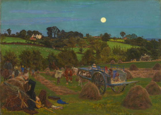 Ford Madox Brown. Haymaking in Hendon