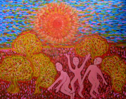 Tatyana Turanova. Sun worshipers