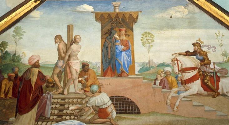 Johann Friedrich Overbeck. Frescoes of Villa Massimo, Tasso Hall