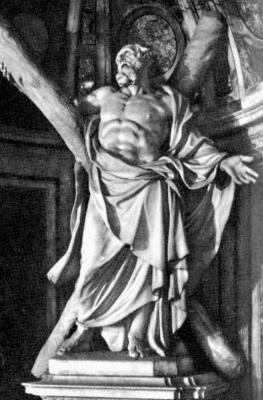 Франсуа Дюкенуа. Святой Андрей