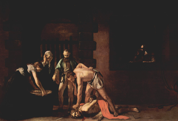 Michelangelo Merisi de Caravaggio. The Beheading Of John The Baptist