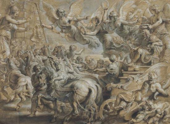 Питер Пауль Рубенс. Сципиона Африканского приветствуют у ворот Рима