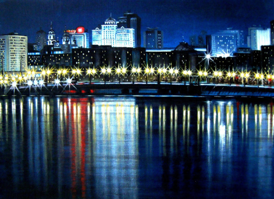 Alex Visiroff. Night city