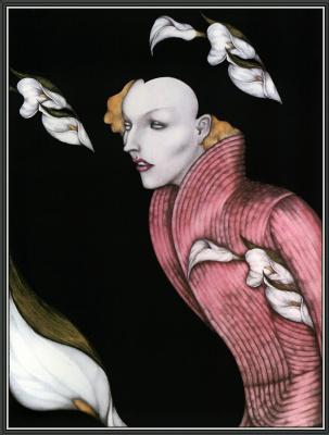 Мелл Одом. Розовый жакет