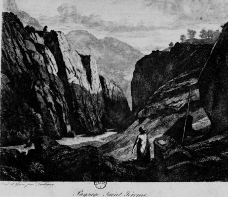 Charles-Francois Daubigny. Saint Jerome