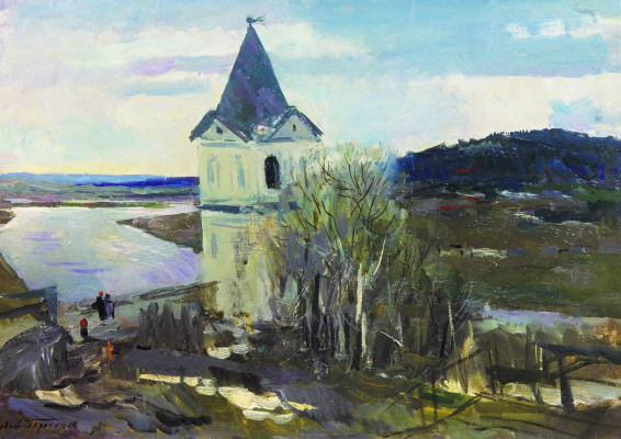 Sergey Vasilyevich Gerasimov. The beginning of spring
