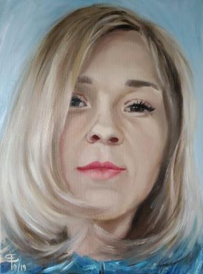Julia Valerievna Fedotova. Female portrait