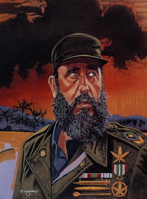 Билл Киглиано. Фидель Кастро
