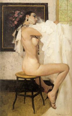 Robert McGinnis. White woman