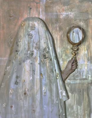 Margarita Tatieva. By the mirror