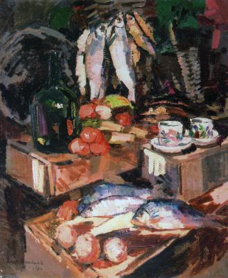 Konstantin Korovin. Fish