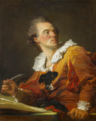 Jean Honore Fragonard. Writer