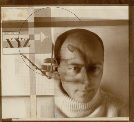 El Lissitzky. Constructor. Self portrait