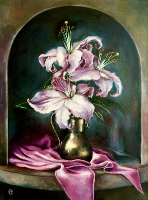 Hope Sosnovikova. Lilies