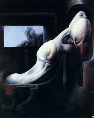 Hans Rudolph Giger. Tribute to Beckett