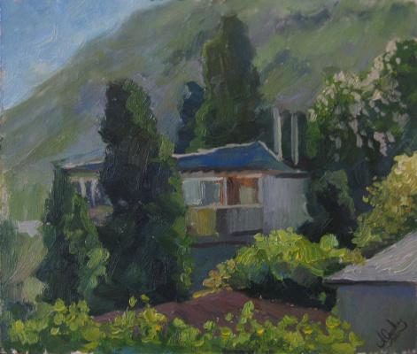 "Artur Petrovich Yatsenko. ""House in Gurzuf"""