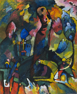 Wassily Kandinsky. Picture with Archer