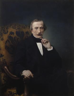 Francesco Ayets. Portrait of Massimo d'Azello