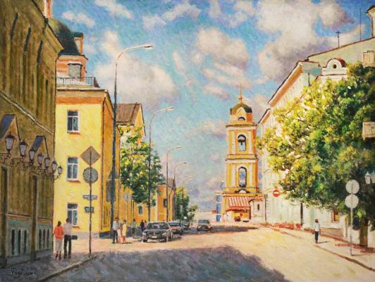 Igor Razzhivin. May bright sun