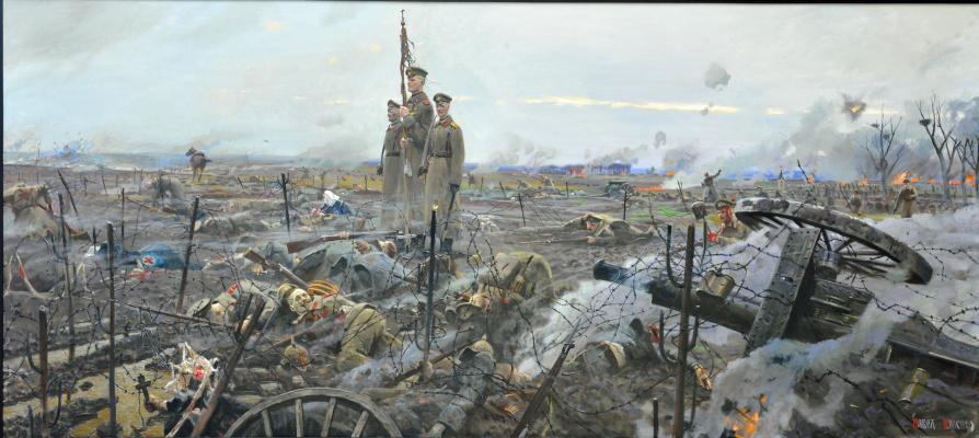 Pavel Viktorovich Ryzhenko. Stokhid. The last battle of the Preobrazhensky Life Guards regiment