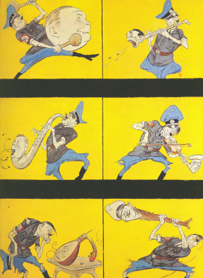 Kukryniksy. Music hysteria