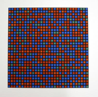 Francois Morelle. 9 x 5 Konkret