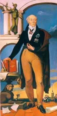 Daniil Litvinov. Портрет Сперанского