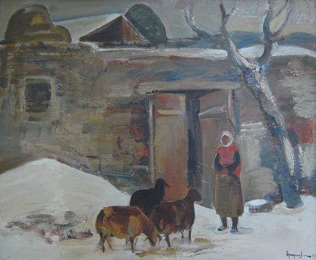 Albert Surenovich Parsamyan. Winter