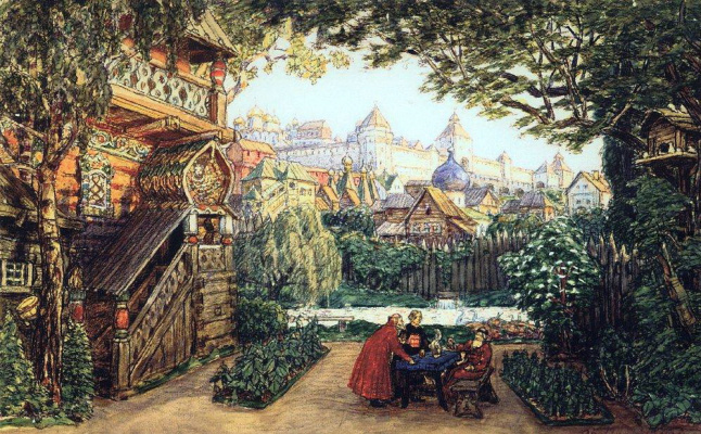Apollinarius Mikhailovich Vasnetsov. Garden Prince Pearl
