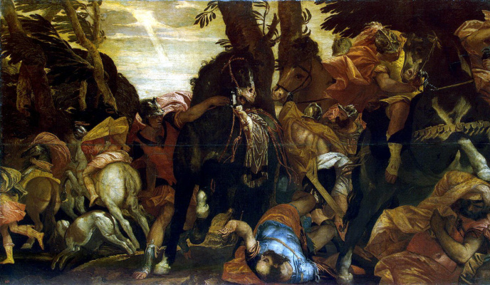 Paolo Veronese. Saul's Conversion