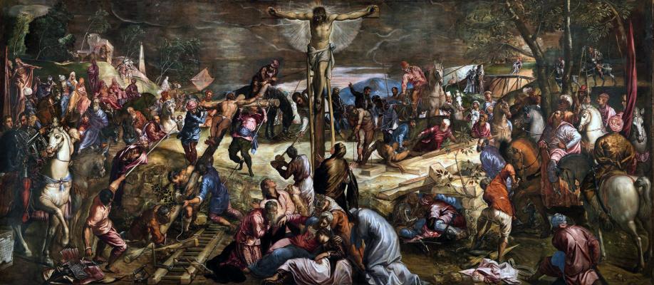 Якопо (Робусти) Тинторетто. Распятие Христа