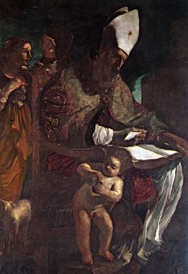 Джованни Франческо Гверчино. Блаженный Августин