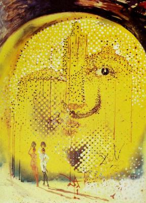 Salvador Dali. The Sun Gave