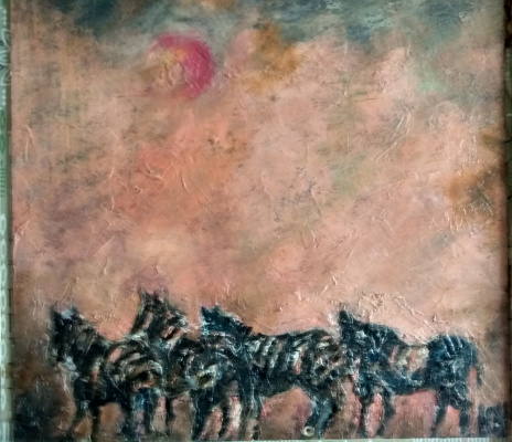 Yuri Valeryevich Churilov. Zebras