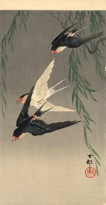 Охара Косон. Птицы 93