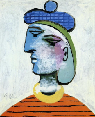 Pablo Picasso. Maria-Theresa in the blue beret